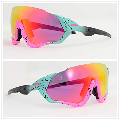 Pasybrelt 3 Lens UV400 Polarized Cycling Sunglasses TR90 Sports Bicycle Glasses MTB Mountain Bike Fishing Hiking Riding Eyewear Extra Photochromic 01 ()