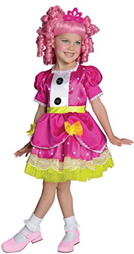 [Big Girls' Lalaloopsy Jewel Sparkles Costume, Toddler US Size 2-4] (Lalaloopsy Costumes For Girls)
