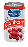 Ocean Spray Juice Drink, Cranberry Juice Cocktail, 5.5 Ounce Mini Cans (Pack of 48)