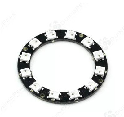 Robocraze WS2812 5050 RGB 12-LED Round Lamp Development Board Price & Reviews