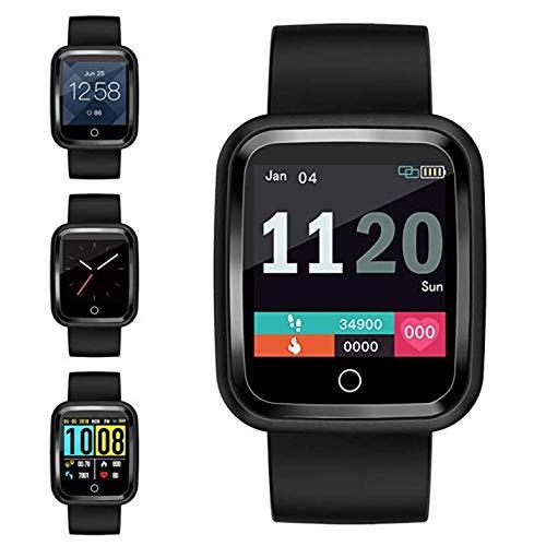 Fitness Tracker Smart Watch Sportmodi Bluetooth wasserdichte Kindersportuhr mit Meldung Erinnern Herzfrequenz Blutsauerstoffdruckmessgerät iOS Android-Uhren für Männer Frauen Jungen Mädchen