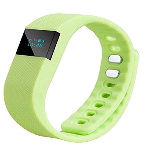 TraveT Bluetooth Smart Bracelet Heart Rate Monitor Fitness Tracker remote camera Smart Band