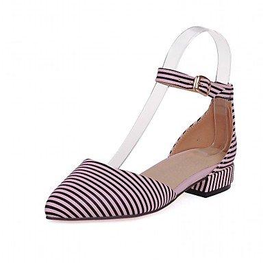 RTRY Las Mujeres Sandalias De Verano Caen Club Zapatos Zapatos Formales Comfort Novedad Oficina Exterior De Piel Sintética Pu &Amp; Carrera Parte &Amp; Casual Vestido De Noche US3.5 / EU35 / UK2.5Big Kids