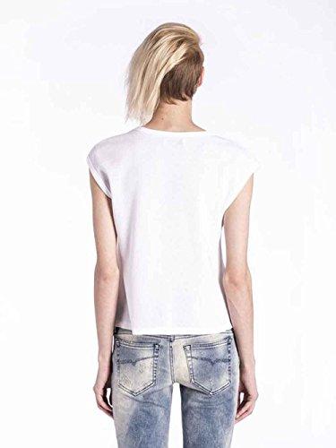Diesel - Camiseta de manga larga - para mujer blanco