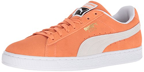 PUMA Suede Classic Sneaker Melon-puma White clearance shopping online free shipping best prices for sale cheap price release dates for sale Xcyuu8L