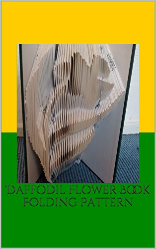 - Daffodil Flower Book Folding Pattern
