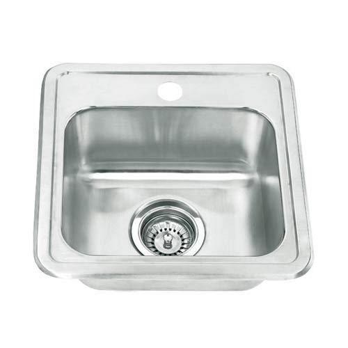 Yosemite Home Decor MAG1515 22-Gauge Stainless Steel Drop In Bar Sink