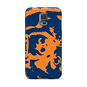 Protector Hard Phone Case For Samsung Galaxy S5 (Lvu8087kQDp) Customized Beautiful Chicago Bears Skin