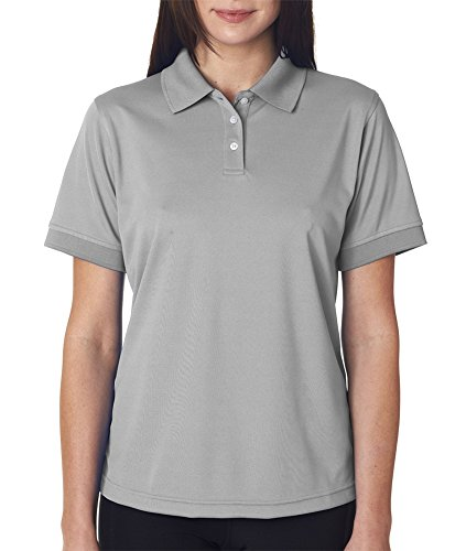 Ultraclub Polo Oscuro Gris Para Mujer wFXTOFq1