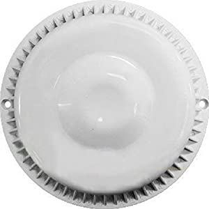 Amazon Com Anti Vortex White Drain Cover 7 3 8 Inch Made