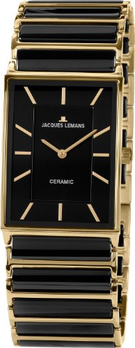 Jacques Lemans York 1-1651D Ladies Ceramic Bracelet Watch