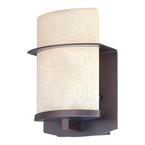 Minka Lavery Chandelier Pendant Lighting 4953-267B, City Club Glass 1 Tier Dining Room, 3 Light, Bronze