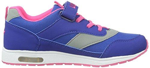 Lico Cool Vs, Zapatillas para Niñas Azul (Blau/pink/grau)