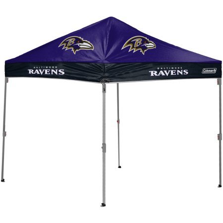 NFL 10' x 10' Canopy, Ravens - Multicolor (Coleman Pop Up Cover compare prices)