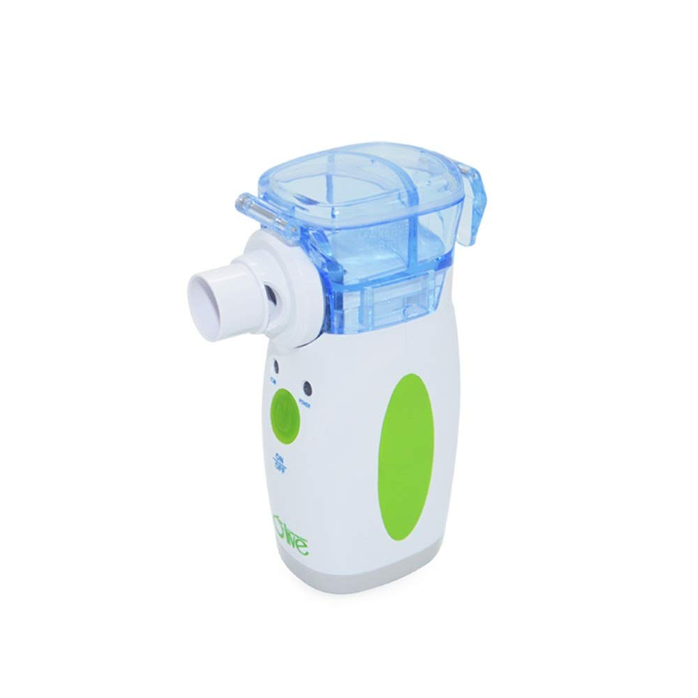 Portable Ultrasonic Nebulizer Mesh Compressor Household Treatment Machine with US Adaptor for Asthma COPD by Olive