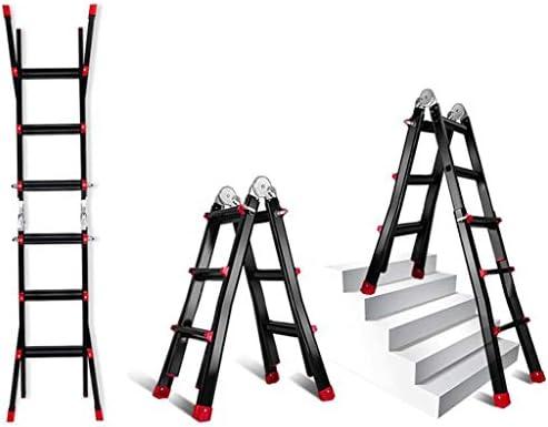 Plegables Telescópico Escalera,multifunción Extensión Escalera Portátil Extensible Escaleras De Mano Aluminio Aleación Escalera-a2 2.3+2.3m: Amazon.es: Bricolaje y herramientas