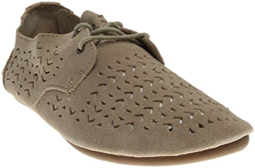 Sanuk Womens Bianca Perf Oxford Natural Size 8 by Sanuk