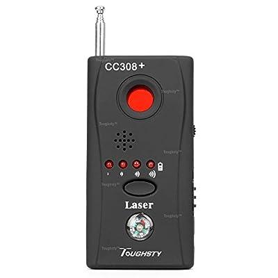 Toughsty™ Anti Spy Hidden Camera Wireless RF Signal Detector GSM Voice Bug Device Finder