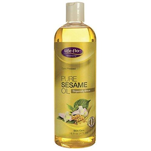 Reines Sesamöl, Hautpflege, 16 Flüssigunzen (473 ml) - Das Leben Flo Gesundheit