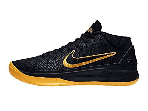 Nike Heren Kobe Ad Nylon Basketbalschoenen Zwart / Universiteit Goud