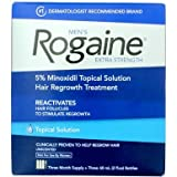 Rogaine for Men Hair Regrowth Treatment, Extra Strength Original Unscented, 2-Ounce Bottles (Pack of 3)