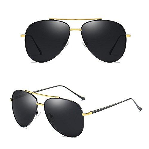 sol Aviator Gafas Gafas Color sol de Gafas polarizadas Gafas retro para conducir hombre de protectoras para sol sol UV400 de Gafas de SSSX A sol B de 60PdwWq0