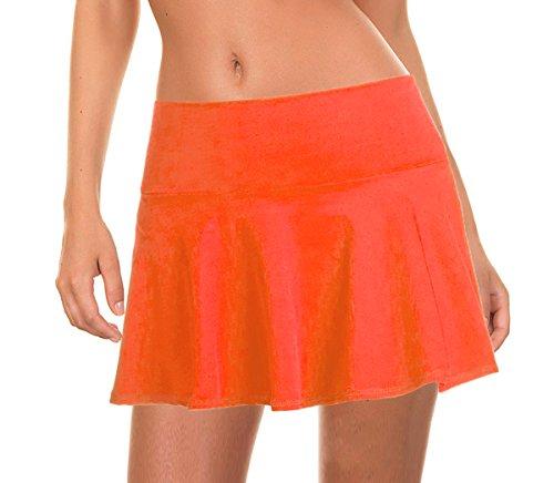 - Beachcoco Women's Swim/Beach Cover-up Skirt (XS, Neon Coral)