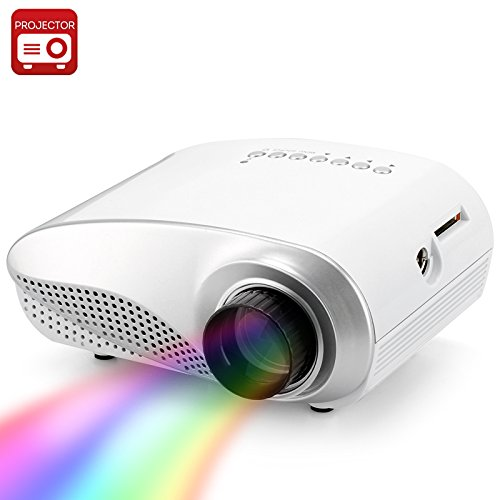 Generic 1080P Support Mini Multimedia Led Projector - 320X240 Resolution, 1000:1 Contrast Ratio, 50 Lumens, Hdmi Port by Generic