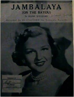 Jambalaya on the Bayou - sheet Music: Hank Williams
