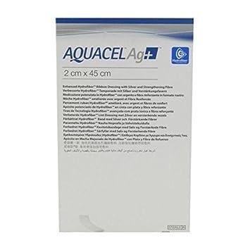 Aquacel Ag Ribbon Silver Hydrofiber Wound Dressing 2 X 45cm X1