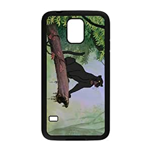 Samsung Galaxy S5 Cell Phone Case Black The Jungle Book Character Bagheera Hard Phone Case Cover Active XPDSUNTR14081