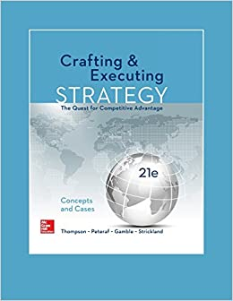 thompson strickland and gamble crafting and executing strategy text and readings mcgraw hill Home » download ebook crafting & executing strategy 21e by gamble, thomson, peteraf, strickland download ebook crafting & executing strategy 21e by gamble, thomson, peteraf, strickland ebook / solution manual / powerpoint / test bank book title/ edition: crafting and executing strategy: concepts and readings  mcgraw hill inc.