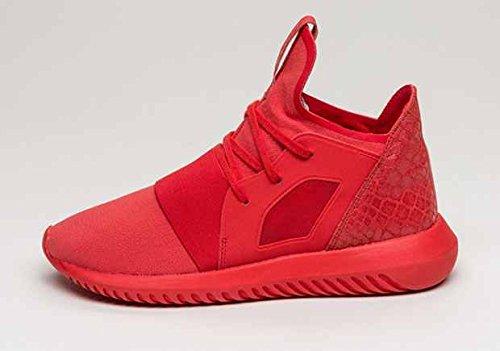 Tubular Defiant Womens in Lush Red by Adidas, 9