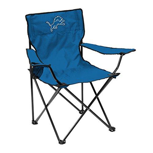 Logo Brands NFL Detroit Lions Unisex Detroit Lions 2017 Logo Quad ChairLogo Brands Detroit Lions 2017 Logo Quad Chair, Multi, One Size