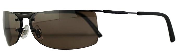 Filigrane Sonnenbrille mit hellbraunen Gläsern HvQYG54Vs