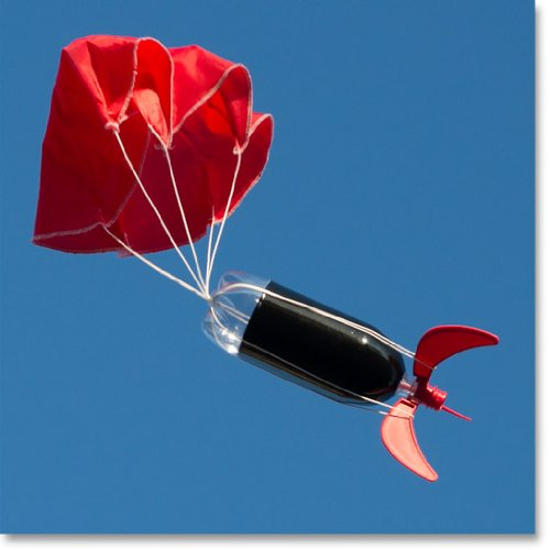 water bottle rocket instructions with parachute