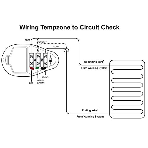 WarmlyYours Circuit Check Continuity Tester, for Electric Floor Heating