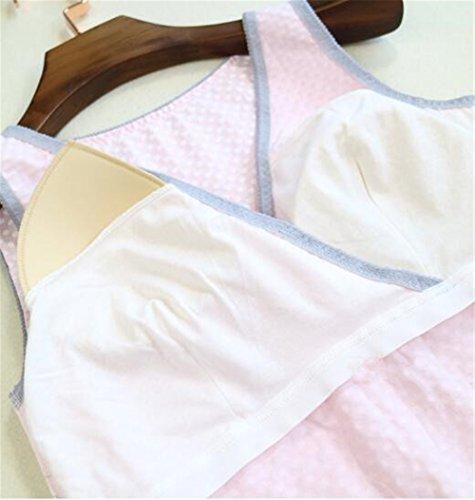 Donne Rosa Breastfeeding Premaman Maniche Canotta Elegante Infermieristica Estivi Nursing Tops Senza Camicetta Maglietta Camicetta Casual L'Allattamento Donne Gogofuture dTHPwd