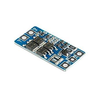 Amazon.com: 2PCS 2S Li-ion Litio 10A 7.4V 18650 Cargador de ...