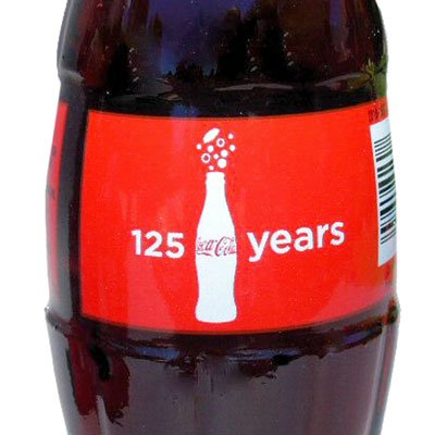 125 Years Anniversary of The Coca-Cola Bottling Company Bottle 2011 -
