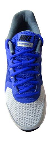 Nike Wmns Zoom Winflo, Zapatillas de Running Para Mujer Gris (Gry Mist / Blk-Prsn Vlt-Bl Grpht)