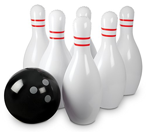 kids bowling set with lane - 6