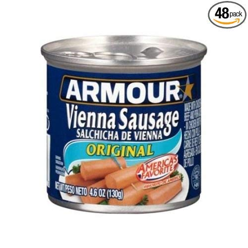 (Armour Original Vienna Sausage, 4.6 Ounce -- 48 per case.)