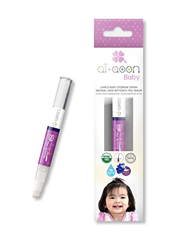 AI+AOON Butterfly Pea Baby Eyebrow Serum Size 2 ml.