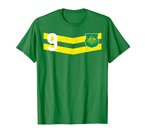 - Australia Rugby T-Shirt Aussie Football Soccer Jersey