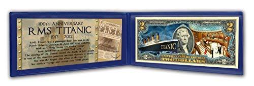 The Matthew Mint Two Dollar Jefferson Bill Titanic Tribute
