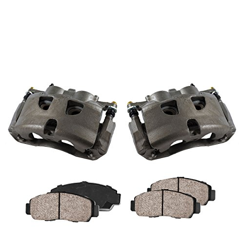 - CCK01033 [2] FRONT Premium Loaded OE Caliper Assembly Set + Quiet Low Dust Ceramic Brake Pads