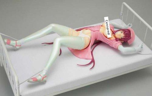 七瀬恋 -ベッド拘束- 「夜勤病棟」 キャラアニ×裏Be-B プレミア・フィギュア 1/6 PVC製塗装済み完成品 キャラアニ限定