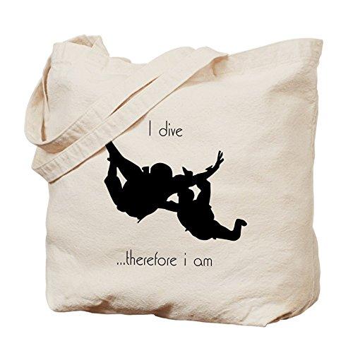 CafePress–Paracaidismo–Gamuza de bolsa de lona bolsa, bolsa de la compra