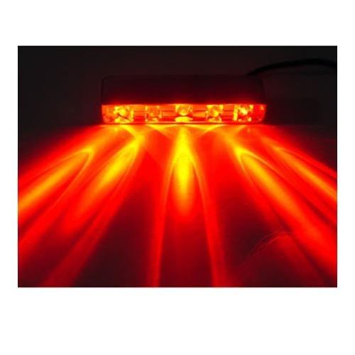 Logisys Computer Logisys MDLED4RD 12 v 防水クアッド LED ライト (レッド)-   B001SRGW9M